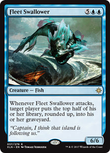 Fleet Swallower - Rare - XLN057 Wizards of the Coast | Cardboard Memories Inc.