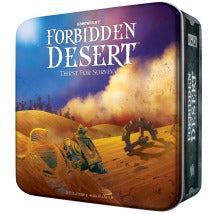 Forbidden Desert - Thirst For Survival Gamewright | Cardboard Memories Inc.