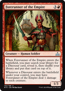 Forerunner of the Empire - Uncommon - RIX102 Wizards of the Coast | Cardboard Memories Inc.