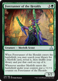 Forerunner of the Heralds - Uncommon - RIX129 Wizards of the Coast | Cardboard Memories Inc.