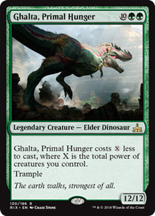 Ghalta, Primal Hunger - Rare - RIX130 Wizards of the Coast | Cardboard Memories Inc.