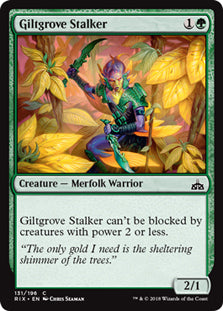 Giltgrove Stalker - Common - RIX131 Wizards of the Coast | Cardboard Memories Inc.