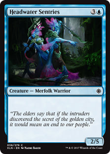 Headwater Sentries - Common - XLN058 Wizards of the Coast | Cardboard Memories Inc.
