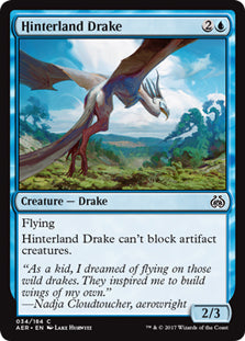 Hinterland Drake - Common AER034 Wizards Of the Coast | Cardboard Memories Inc.