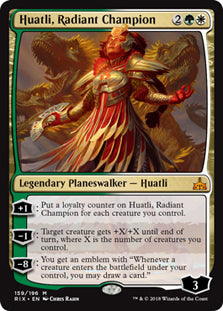 Huatli, Radiant Champion - Mythic - RIX159 Wizards of the Coast | Cardboard Memories Inc.