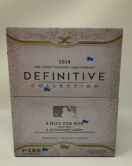 2018 Topps Definitive Collection