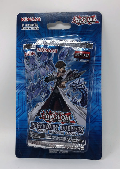 Yu-Gi_Oh! Legendary Duelists White Dragon Abyss Blister Pack (2 Packs)