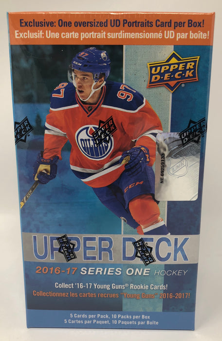 2016-17 Upper Deck Series One Hockey Blaster Box