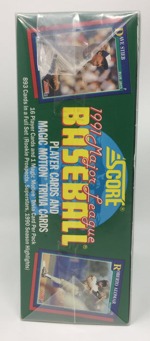 Score - 1990 - Baseball -Series 1 - Hobby Box