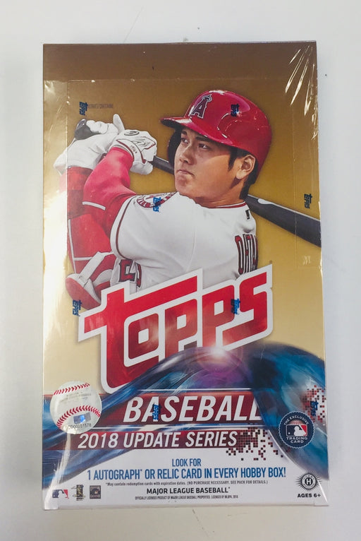 2018 Topps Update Baseball Hobby Box