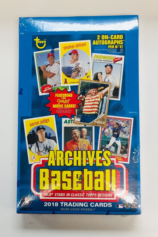 2018 Topps - Archives Baseball Hobby Box