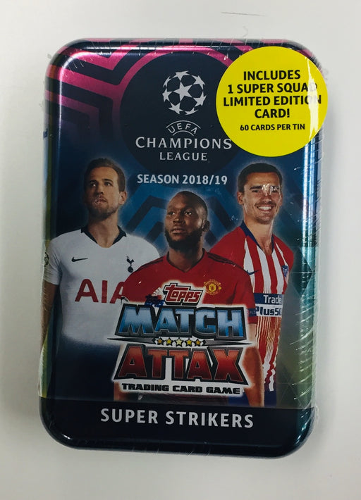 Topps 2018-19 Match Attax Champion League - Super Strikers Mega Tin
