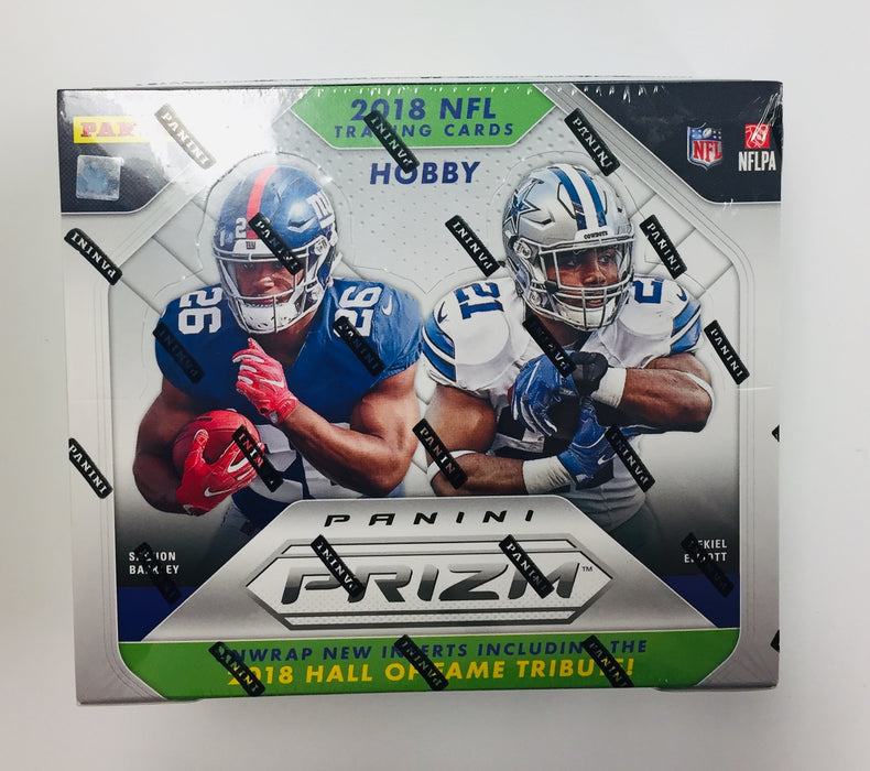 2018 Panini Prizm Football Jumbo Box