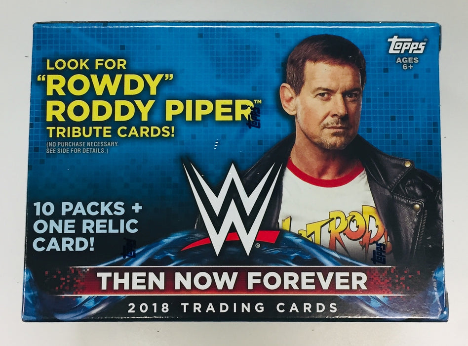 2018 Topps Then Now Forever Blaster Value Box