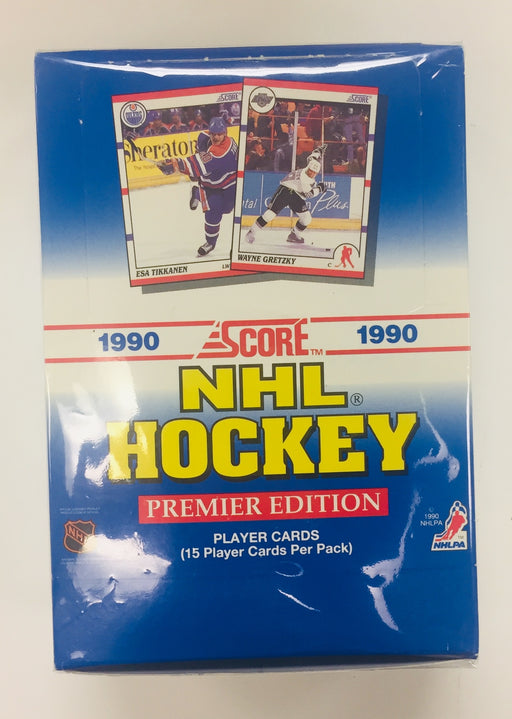 Score 1990-91 Hockey Hobby Box - USA Version