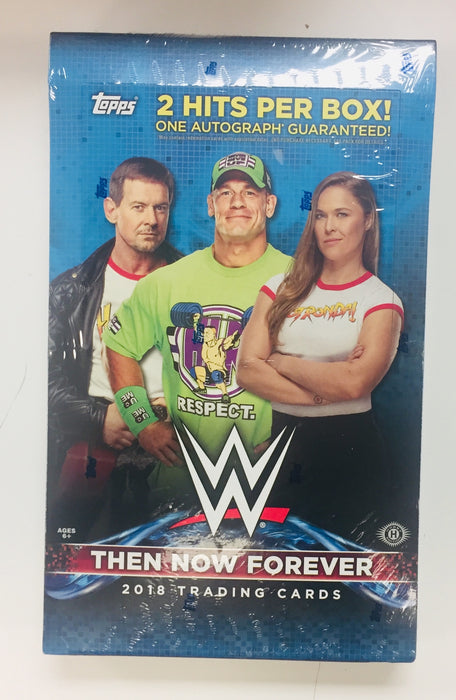 Topps - 2018 - WWE Wrestling - Then Now Forever - Hobby Box