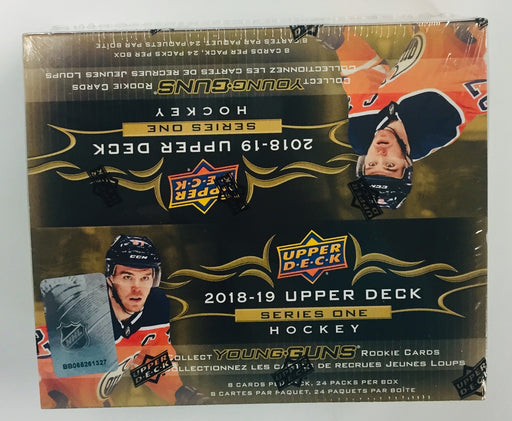 2018-19 Upper Deck Series 1 Hockey Retail Box