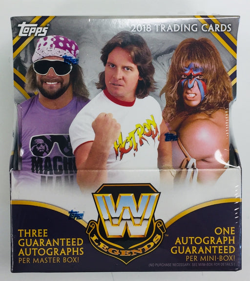 2018 Topps Legends of WWE Hobby Box