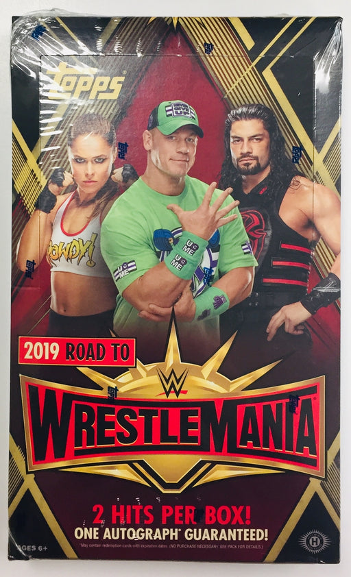 2019 Topps Road to Wrestlemania WWE Hobby Box