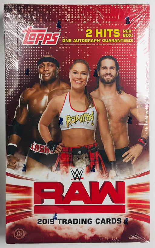 2019 Topps - WWE RAW Wrestling - Hobby Box