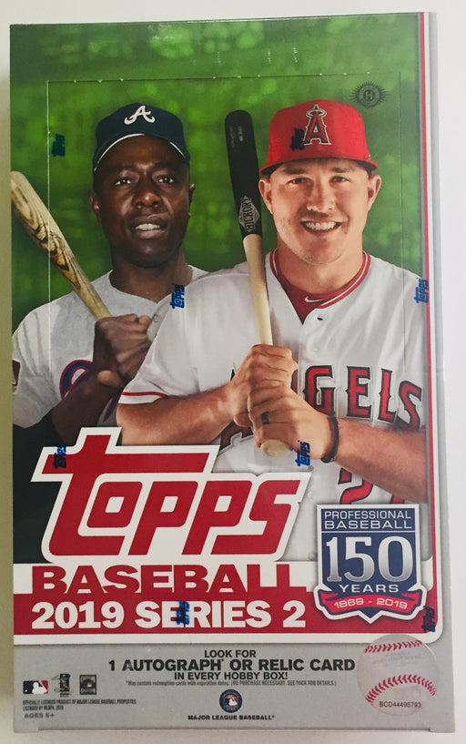 2019 Topps - Series 2 Baseball - Hobby Box