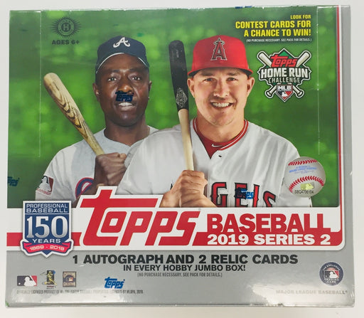 2019 Topps - Series 2 Baseball - Jumbo Box