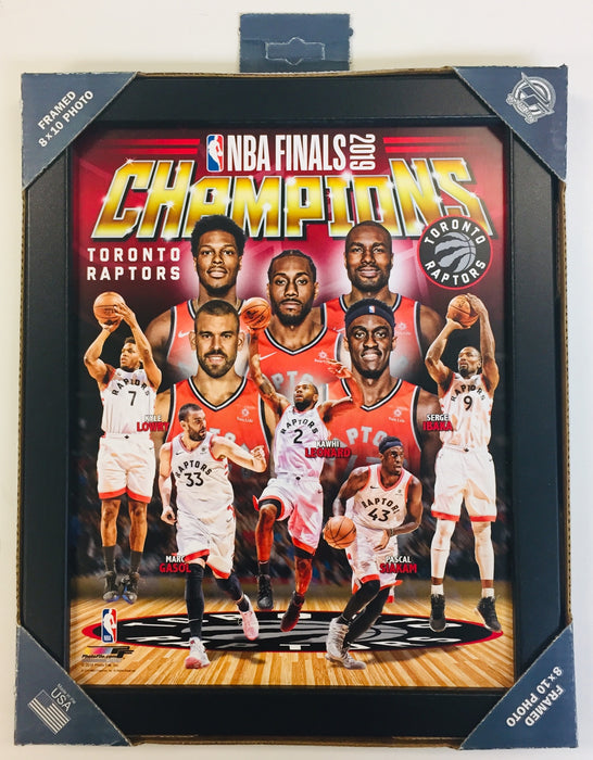 Panini - Toronto Raptors - NBA Champions 2019 - 8x10 Framed Photo