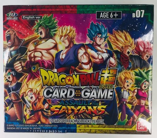Bandai - Dragon Ball Super - Assault Of The Saiyans - Booster Box