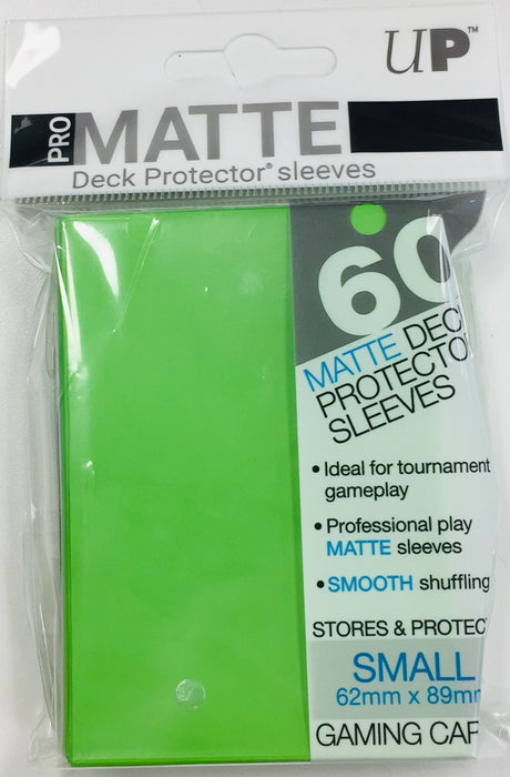 60 ULTRA PRO CLEAR SMALL SIZE DECK PROTECTOR SLEEVES YU-GI-OH