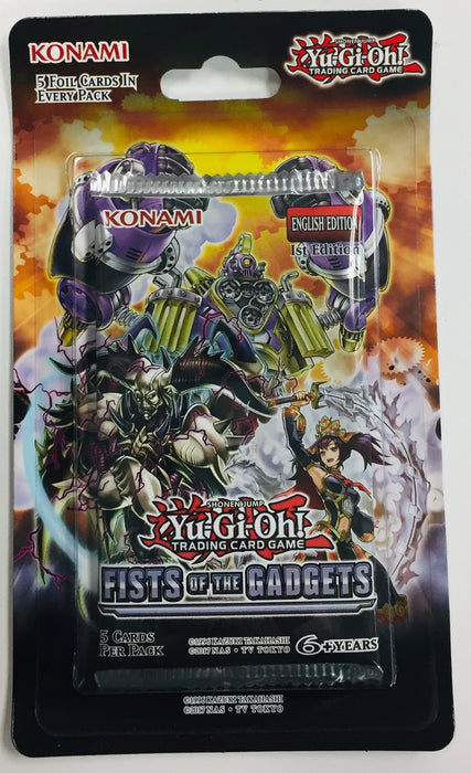 Konami - Yu-Gi-Oh! - Fists of the Gagets - Blister Pack