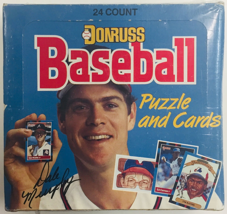 Leaf - 1988 - Donruss Baseball - Cello Box