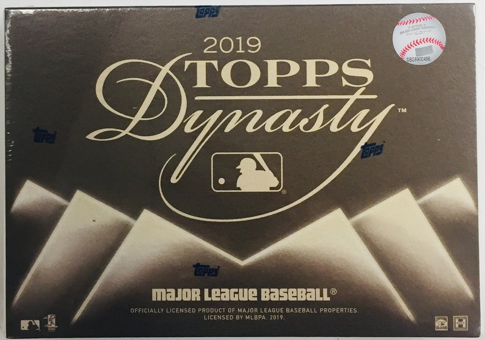 Topps - 2019 - Baseball - Dynasty - Hobby Box