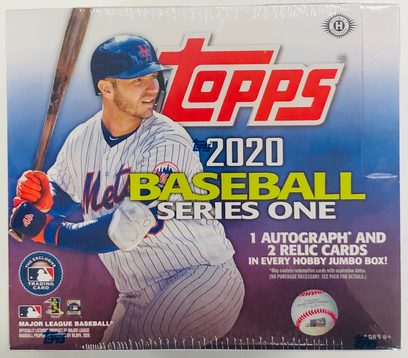 Topps - 2020 - Baseball - Series 1 - Jumbo Box