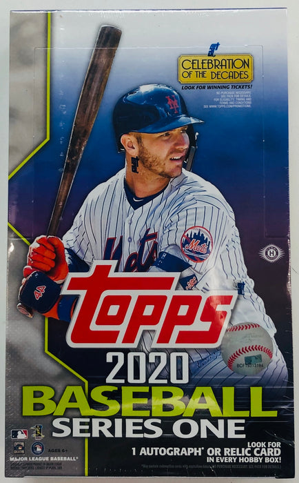 Topps - 2020 - Baseball - Series 1 - Hobby Box