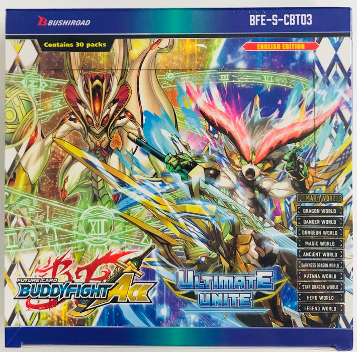 Bushiroad - Buddyfight Ace - Climax Vol. 3 - Ultimate Unite - Booster Box