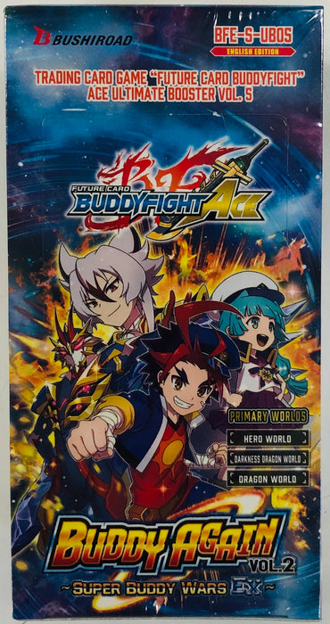 Bushiroad - Buddyfight Ace - Ultimate V5 Buddy Again Vol. 2 - Booster Box