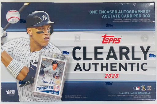 Topps - 2020 - Baseball - Clearly Authentic - Hobby Box