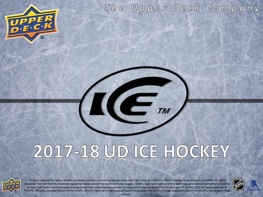 2017-18 Upper Deck Ice Hockey Hobby Inner Case (10) (Pre-Order April 25th) Upper Deck | Cardboard Memories Inc.