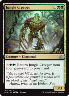 Jungle Creeper - Uncommon - RIX161 Wizards of the Coast | Cardboard Memories Inc.