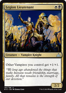 Legion Lieutenant - Uncommon - RIX163 Wizards of the Coast | Cardboard Memories Inc.