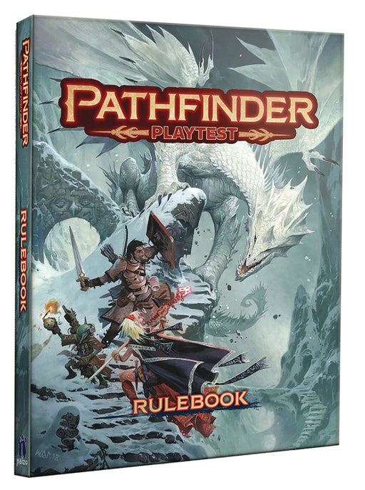Pathfinder 2E Playtest - Rulebook (Hardcover)