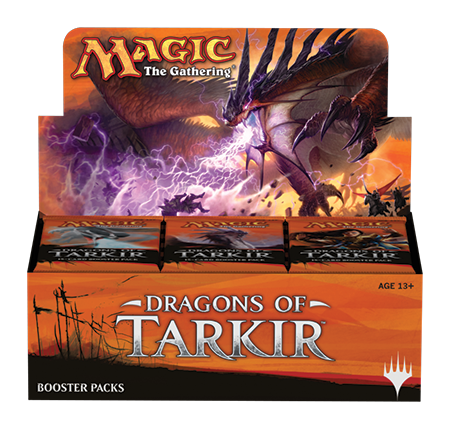 Magic the Gathering Dragons of Tarkir Booster Box Magic The Gathering | Cardboard Memories Inc.