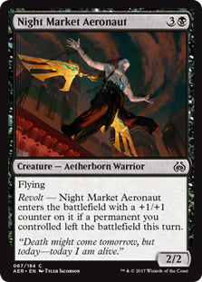 Night Market Aeronaut - Common  AER067 Wizards of the Coast | Cardboard Memories Inc.