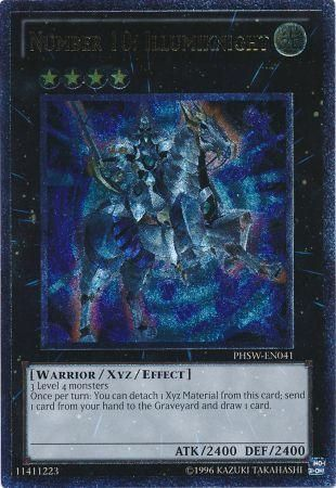 Number 10: Illumiknight - Ultimate Rare Unlimited - PHSW-EN041
