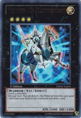Number 10: Illumiknight - Ultra Rare Unlimited - PHSW-EN041
