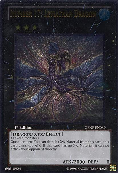 Number 17: Leviathan Dragon - Ultimate Rare - GENF-EN039