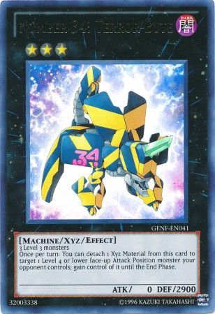 Number 34: Terror-Byte - Ultra Rare Unlimited - GENF-EN041