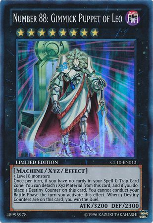 Number 88: Gimmick Puppet of Leo - Super Rare - CT10-EN013