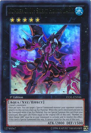 Number C101: Silent Honor DARK - Ultra Rare - LVAL-EN046