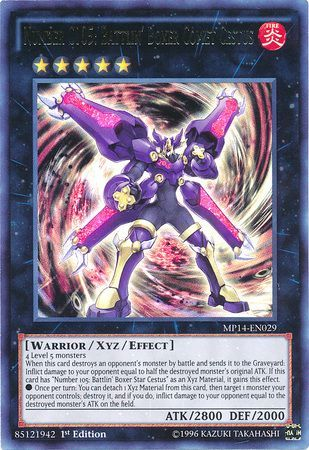 Number C105: Battlin' Boxer Comet Cestus - Ultra Rare - MP14-EN029